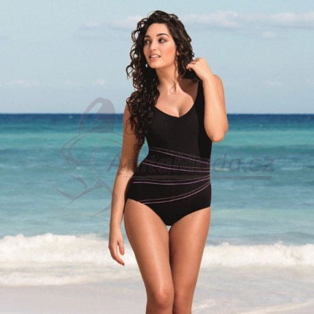 Dámské celkové plavky s kosticí vhodné i do nadměrných velikostí. 67ac9ab147