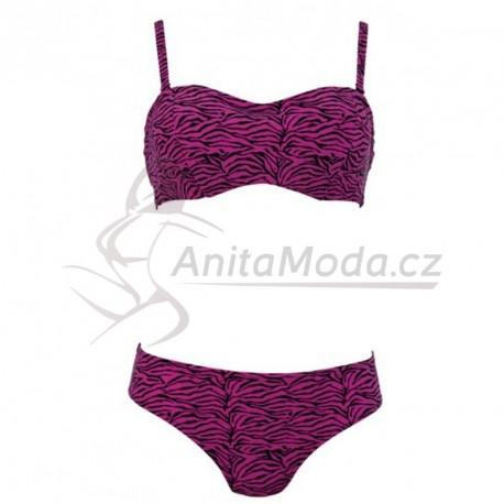 Dvoudílné plavky bez ramínek Bella Anita