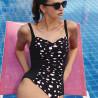 Jednodílné černé plavky Anita