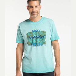 Triko Pioneer Hawai Světle modré
